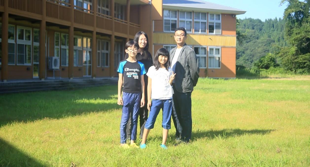 松浦真さんとそのご家族