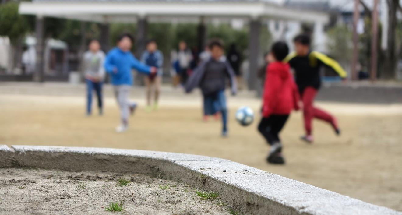 放課後のサッカー