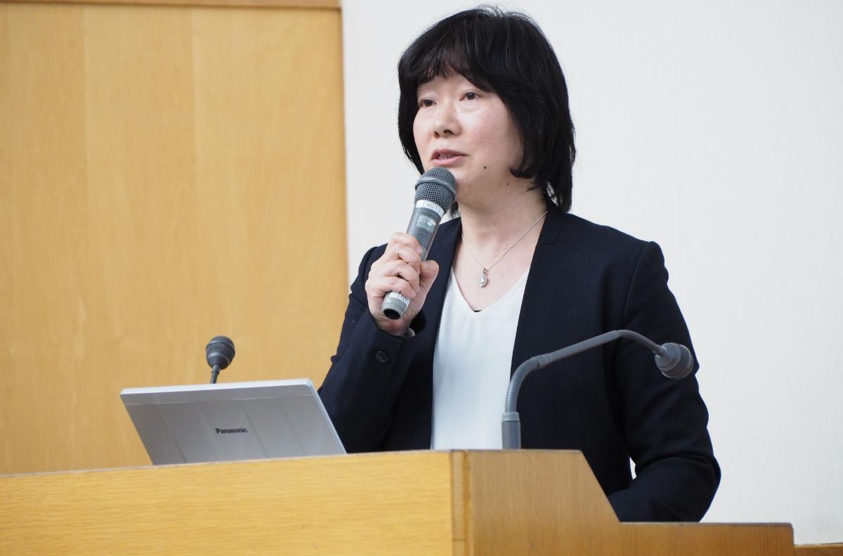 岩田千亜紀氏:東洋大学社会学部社会福祉学科助教