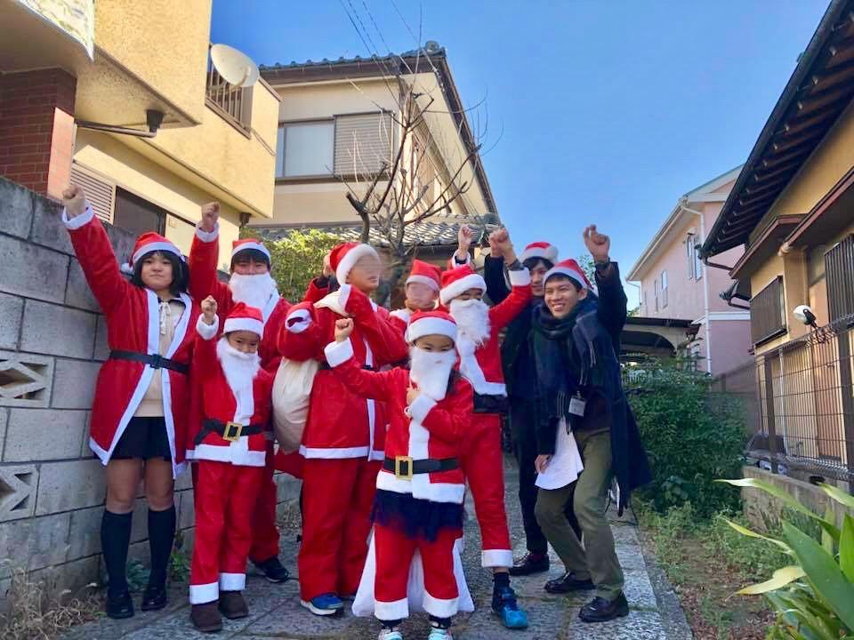 NPO法人ダイバーシティ工房:地域でのクリスマスのイベントの様子