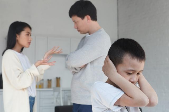 夫婦喧嘩と子ども