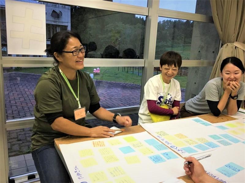 全国の児童館スタッフへの研修も担当、新しい遊びのプログラム開発も行う