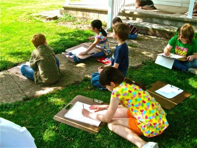 アメリカ・放課後のアート教室も子どもたちから人気