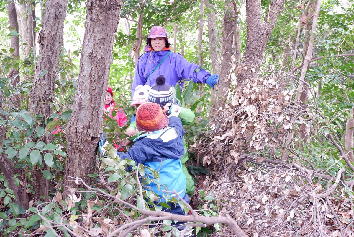 未就学児のための森のようちえん「お山の教室」