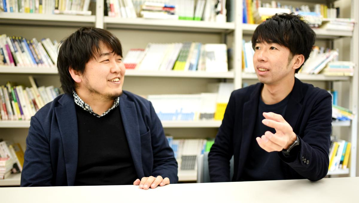 左:編著者の町支大祐さん、右:編著者の辻和洋さん
