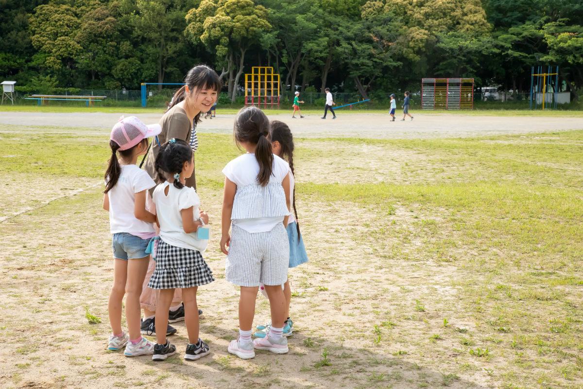 放課後NPOアフタースクール:どんな遊びをしようか相談中