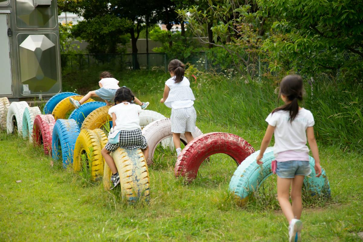 放課後NPOアフタースクール:遊びの中でも慣れていない新しいことに一歩を踏み出す