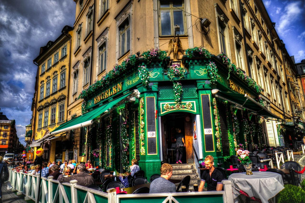 スウェーデン・ストックホルムのレストラン
