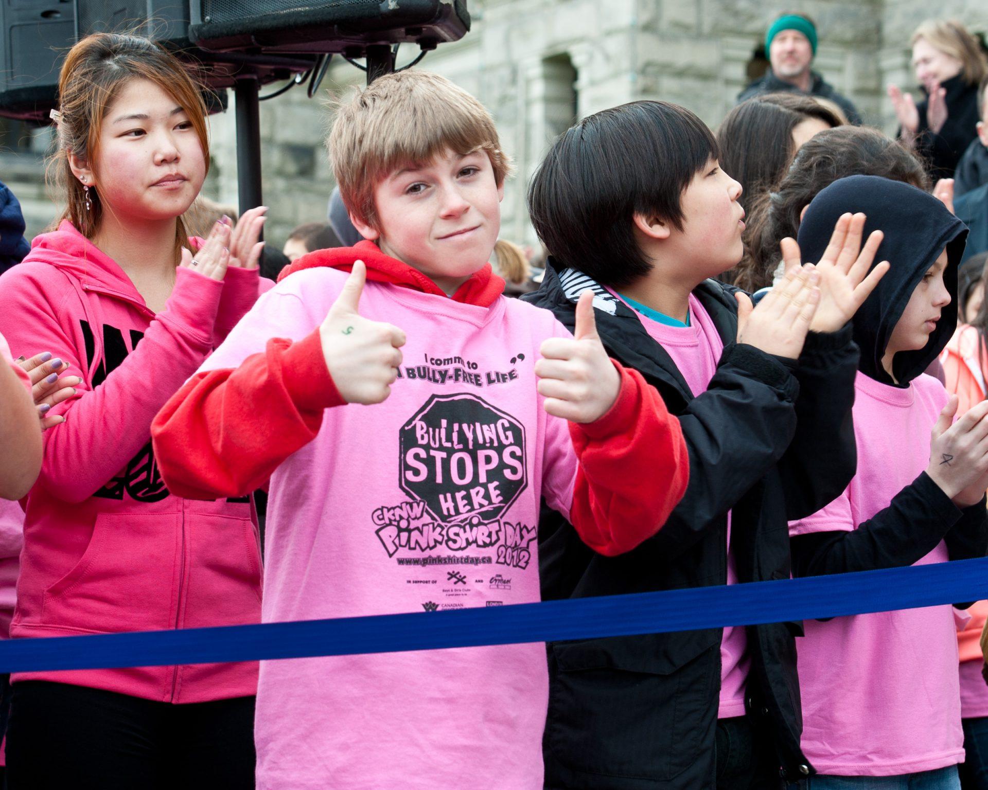 カナダのピンクシャツデイ