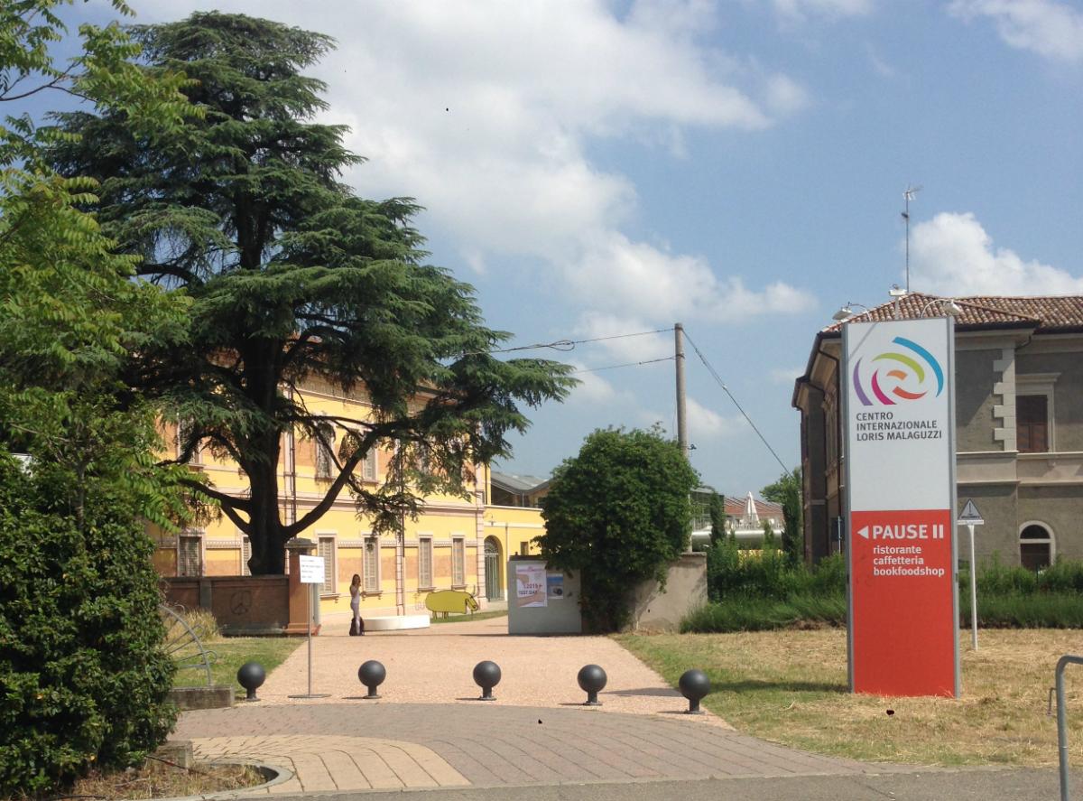 レッジョ市の幼児教育研究機関レッジョ・チルドレンの本部・マラグッティセンター