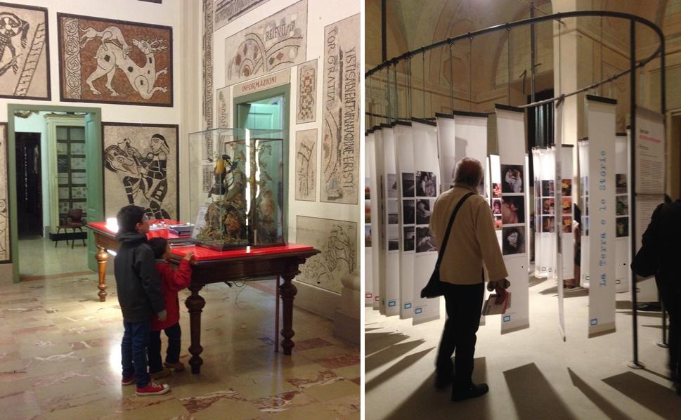 5月に開催される写真展に合わせて、深夜でも市営の博物館等が無料で開放されていた。