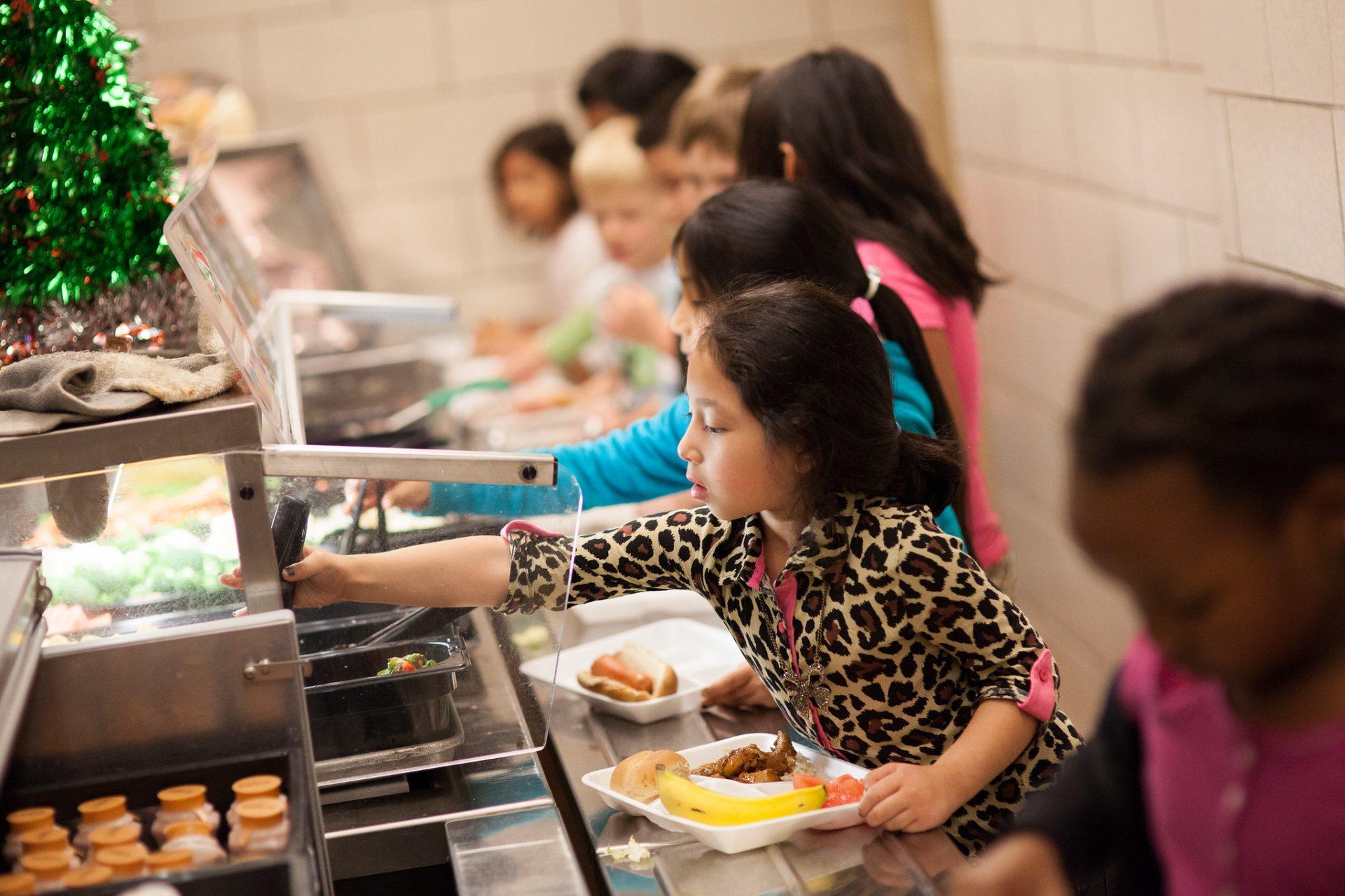 アメリカの学校給食