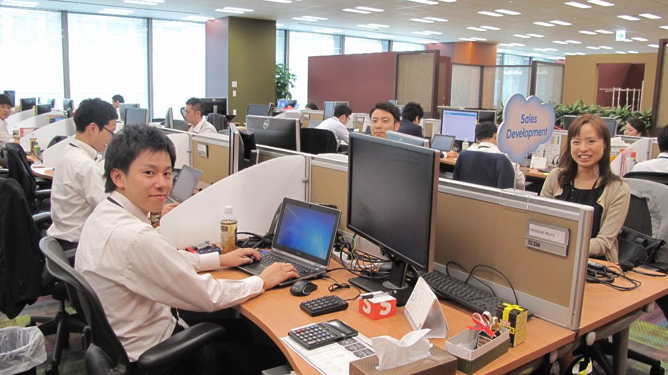 セールスフォースドットコムの就労支援プログラム「BizAcademy」