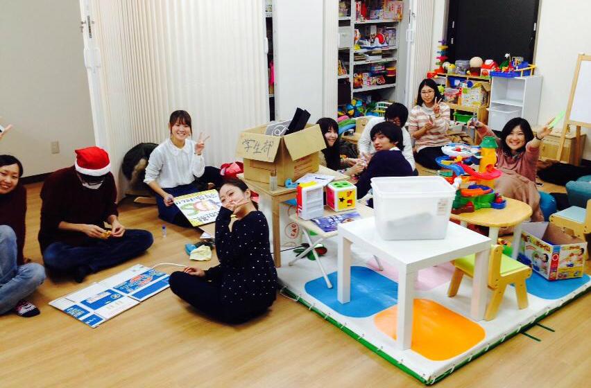 発達障害のあるお子さんに療育を行うプレイルームの様子
