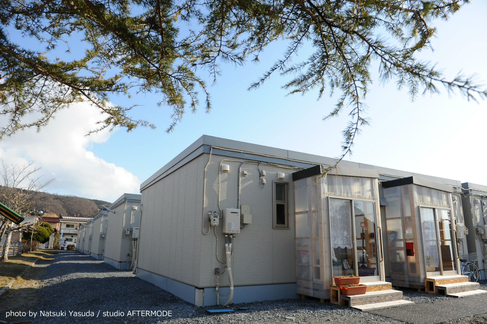東日本大震災の仮設住宅