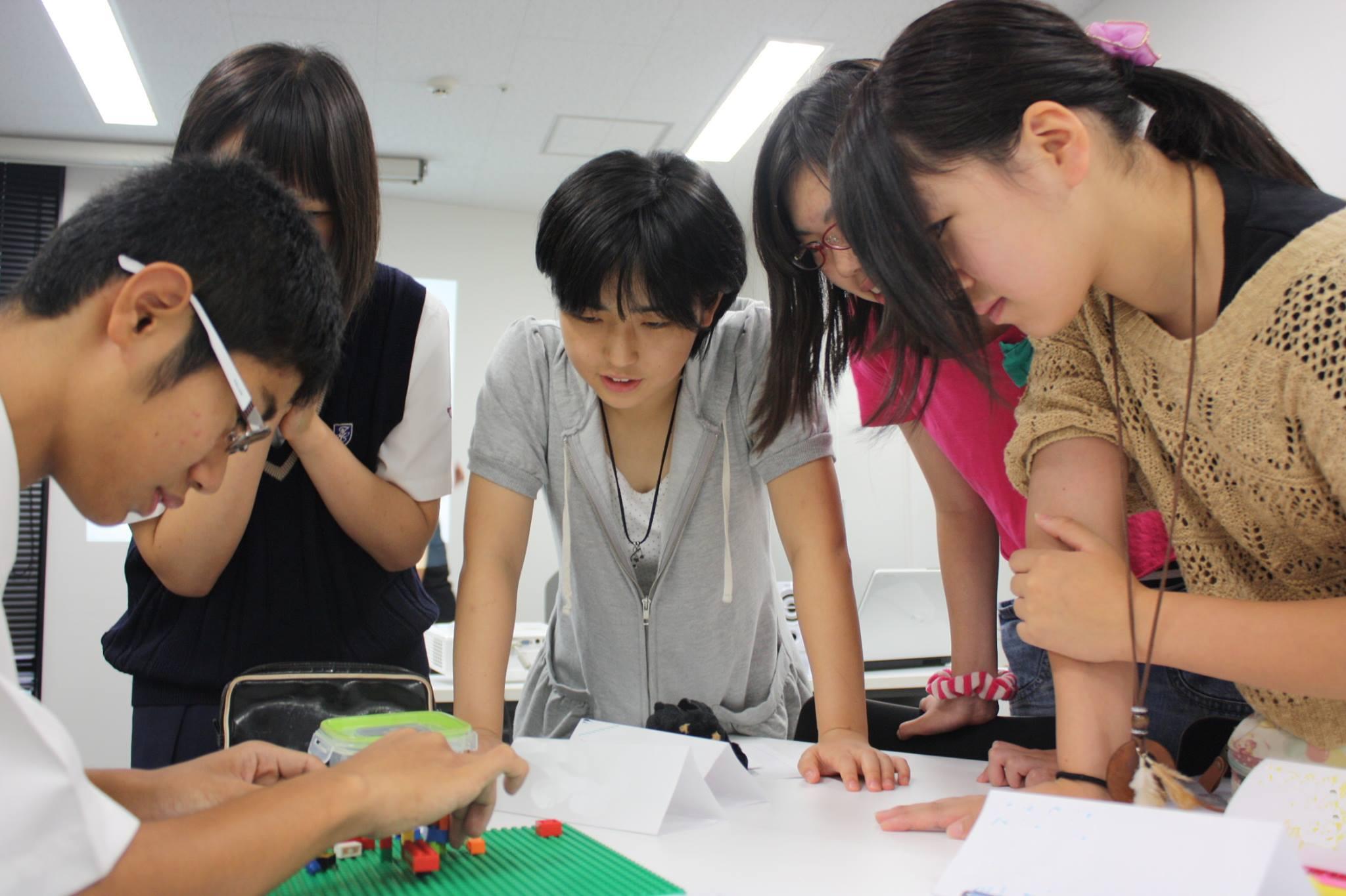 キャリア教育のグループワーク
